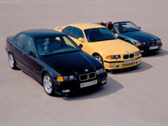 BMW M3 Sedan 1990-1998