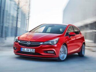 Opel Astra 2016->
