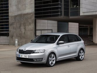 Skoda Rapid Spaceback 2012->