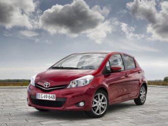 Toyota Yaris 2012-2014
